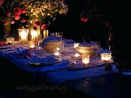 candle light dinner ideas at home lights