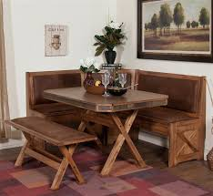 breakfast sets furniture. shop for sunny designs sedona breakfast nook set with side bench and other dining room sets at woodcrafters furniture in murray ky