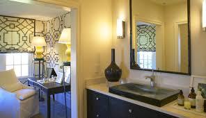 master bathroom glass sinks