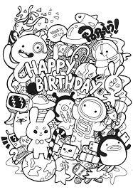 Awesome Doodle Coloring Pages 41 In Free Colouring Pages with ...
