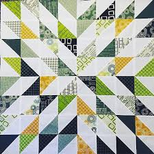 Wow, look at this Starburst Quilt from our tutorial this past ... & Star quilts Adamdwight.com