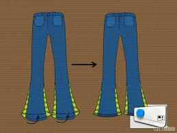 craft diy flare or bell bottom pants