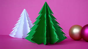 How To Fold A Christmas Tree With Paper Christmas Crafts Origami Christmas Tree