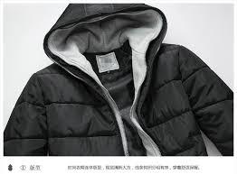 mens warm double hoo coat parka winter coat