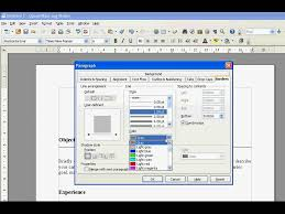 Open Office How To Add Insert Horizontal Line Youtube