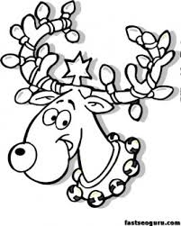 Coloring Pages Of Christmas Lights Free Coloring Library