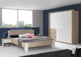 Schlafzimmer Set Komplett 4 Teilig Bianco Eiche Weiß Neu