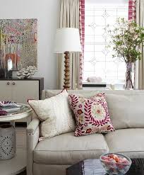 next pillows living room