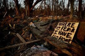 hurricane katrina clayton cubitt where is fema i have no home apple pie ridge road slidell louisiana