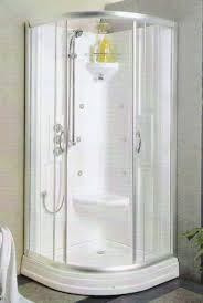 corner shower stalls. Bathroom , Ideal Corner Shower Stalls For Small Bathrooms :