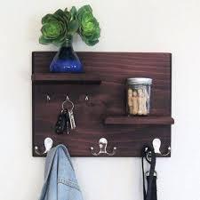 Key Coat Rack Coat And Key Rack Floating Shelves With Coat And Key Hooks Hallway 76