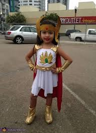 my daugher she ra and skeletor costume
