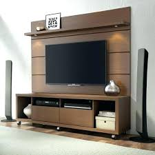 Perfect Tv Wall Panel Floating Wall Stand Stand And Floating Wall Panel With Led  Lights In Nut . Tv Wall Panel ...