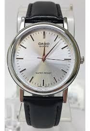 casio mtp 1095e 7a men s classic silver analogue brown leather casio mtp 1095e 7a men s classic silver analogue brown leather band watch