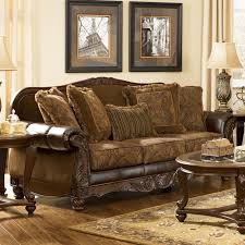 brown color chairs livingroom signature furniture by ashley american signature furniture ft myers fl