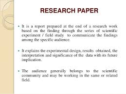 Research Paper Notes  There are   parts of the MLA research paper     SlideShare