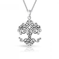 bling jewelry small celtic knot tree of life sterling silver pendant