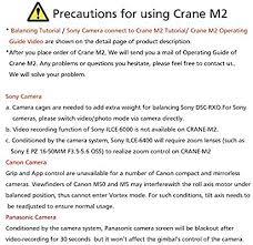 <b>ZHIYUN Official Crane-M2</b> Gimbal 3-Axis Stabilizer for Mirrorless ...