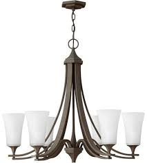 hinkley 4636oz wh brantley 6 light 30 inch oil rubbed bronze chandelier ceiling light photo