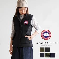 (2832 L) CANADA GOOSE (Canada goose) women s down jacket FREESTYLE VEST  (free style best) O