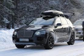 Bentley Bentayga Spied | Motor Exclusive
