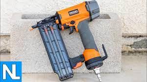 ridgid 18 gauge brad nailer tool
