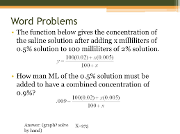 word problems linear equations ppt tessshlo