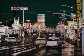 Ernst Haas, Route 66 Albuquerque, New Mexico, 1969 - Artwork 30668
