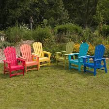 recycled plastic adirondack chairs. Polywood® South Beach Recycled Plastic Adirondack Chair | Hayneedle In Durable Chairs U