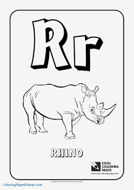The Letter R Coloring Page Inspirational Letter A Coloring Pages For