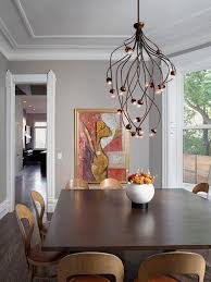inspiration for a contemporary dining room remodel in chicago