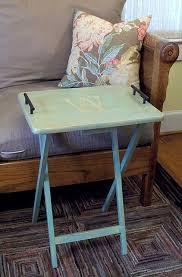 Decorative Tv Tray Tables No Need To Throw The Trays Out We Just Need To Give Them A Face 77