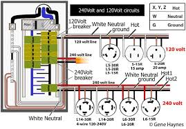 basic house wiring how to wire 240volt outlet and plug