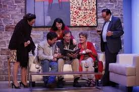 Jill Melanie Wirth (Sandy Loring), Brit Herring (Phil Barrett), Tracy  Newirth (Polly Barrett), David Wirth (Tim McCall), Liz Frost (Janice  McCall) and Bob Manus (Ken Loring) Photo (2011-09-20)