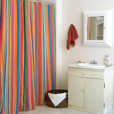 park spa waffle shower curtain green and yellow striped
