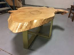 Mennonite Furniture Kitchener Mennonite Furniture Factory Outlet A Maple Slab Table