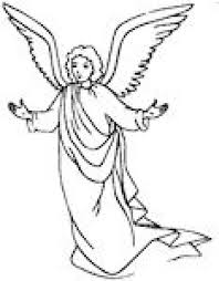 Small Picture Angel Coloring Page Christmas Simple Coloring Home
