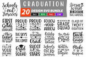 Graduation icons, graduation silhouettes, graduation cards. Download 20 Graduation Svg Bundle Free Free Download Svg Mickey Mouse Head