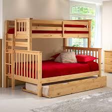 Camaflexi Santa Fe Mission Tall Bunk Bed Full over Full - Bed End Ladder |  Hayneedle