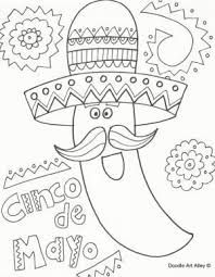 Free printable coloring pages for a variety of themes that you can print out. 125 Free Printable Cinco De Mayo Coloring Pages For Kids Cinco De Mayo Coloring Pages From Celebr Coloring Pages Cinco De Mayo Colors Coloring Pages For Kids