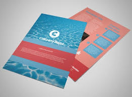 Pool Cleaning Service Flyer Template MyCreativeShop