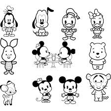 Small Picture For Kids Download Disney Cuties Coloring Pages 20 For Line