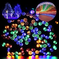christmas lighting ideas. Multicolor Fairy Lights Christmas Lighting Ideas