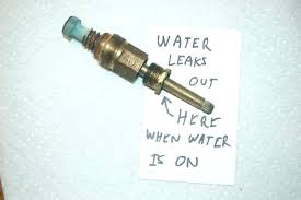 shower diverter leaking replacing