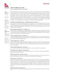 Format For Professional Resume Professional Resume Sample Format Cool Manufacturing Engineer Resume