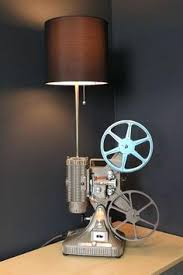 unusual table lamps table lamps this is awesome something old projector something new the cool table unusual table lamps