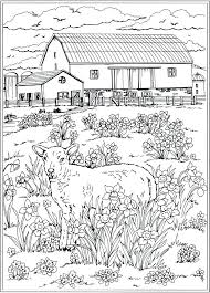 nature colouring pages for s wele to publications creative haven spring scenes coloring book nature colouring