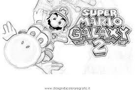 Disegno Supermariogalaxy4 Personaggio Cartone Animato Da Colorare