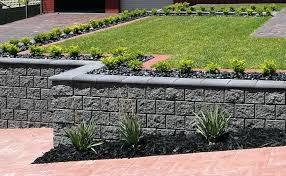 retaining walls design examples garden designs concrete block retaining walls design examples inside wall example example