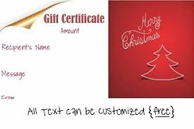 christmas free template free editable christmas gift certificate template 23 designs
